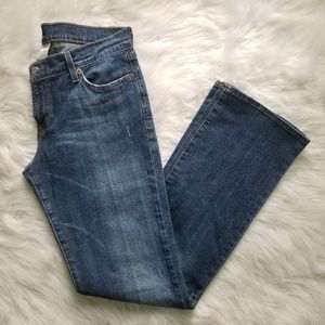 LUCKY BRAND DUNGAREES MID RISE FLARE JEANS 29